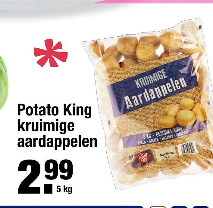 ALDI Potato King Kruimige Aardappelen