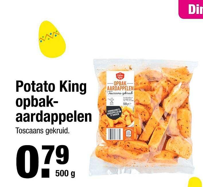 ALDI Potato King Opbakaardappelen
