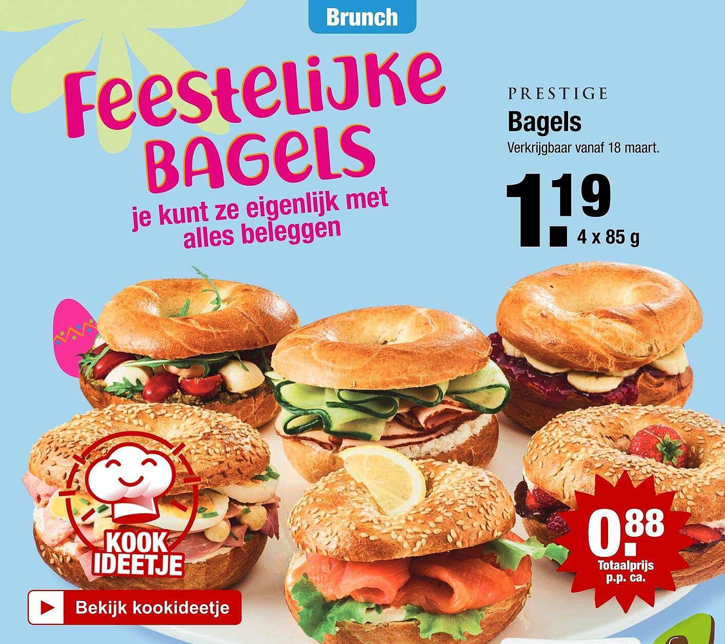 ALDI Prestige Bagels