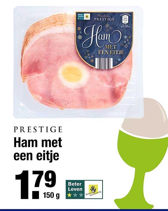 ALDI Prestige Ham Met Een Eitje