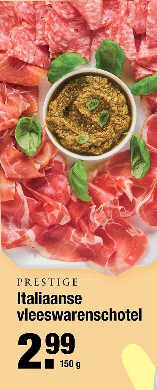 ALDI Prestige Italiaanse Vleeswarenschotel