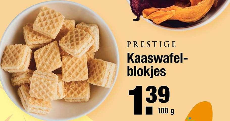 ALDI Prestige Kaaswafelblokjes