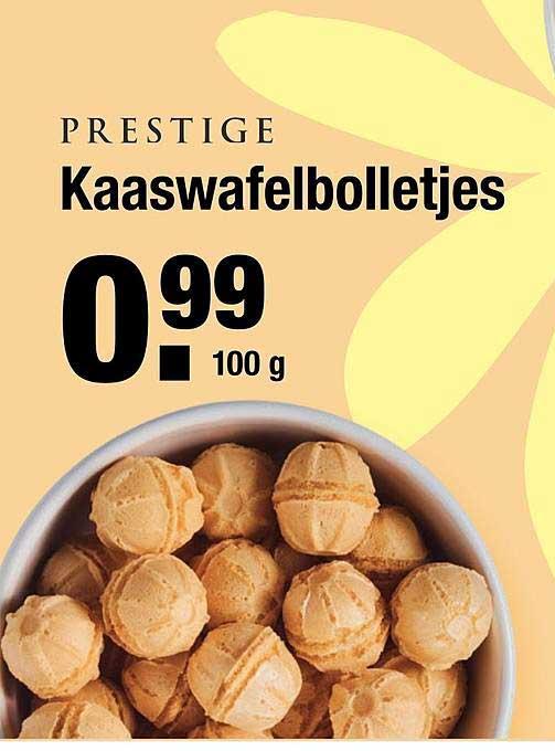 ALDI Prestige Kaaswafelbolletjes