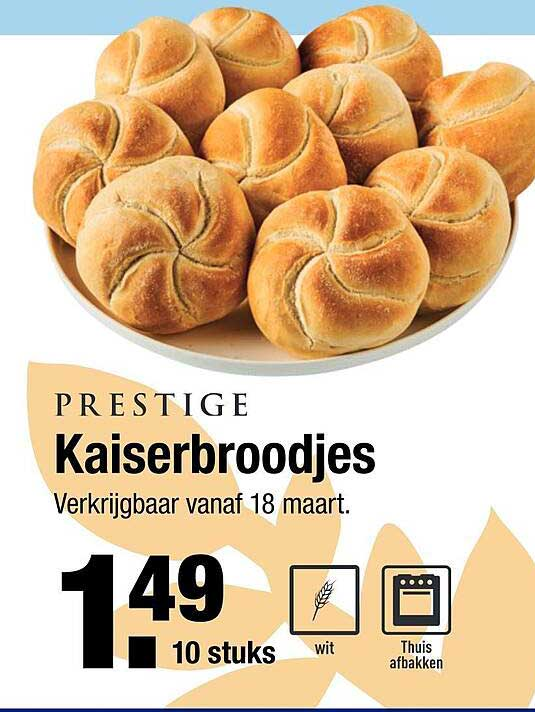ALDI Prestige Kaiserbroodjes