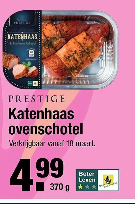 ALDI Prestige Katenhaas Ovenschotel