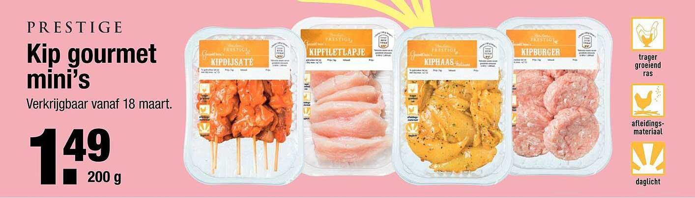 ALDI Prestige Kip Gourmet Mini's