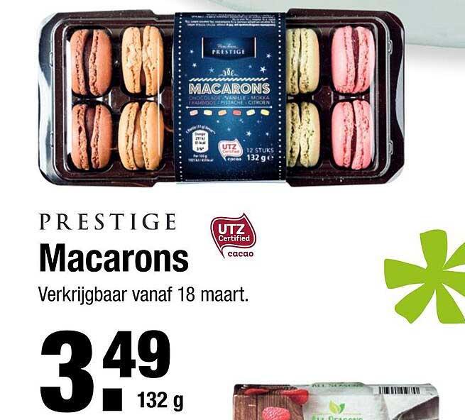 ALDI Prestige Macarons