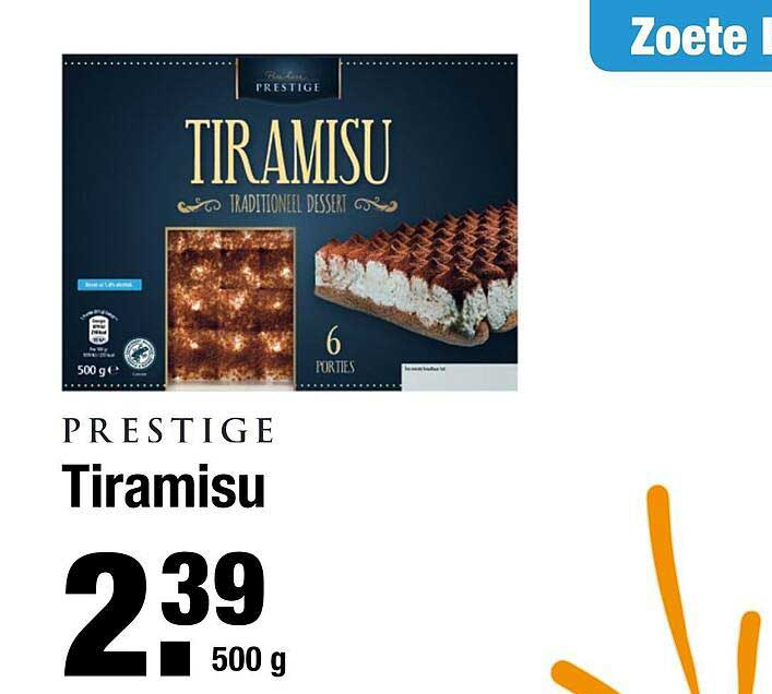 ALDI Prestige Tiramisu