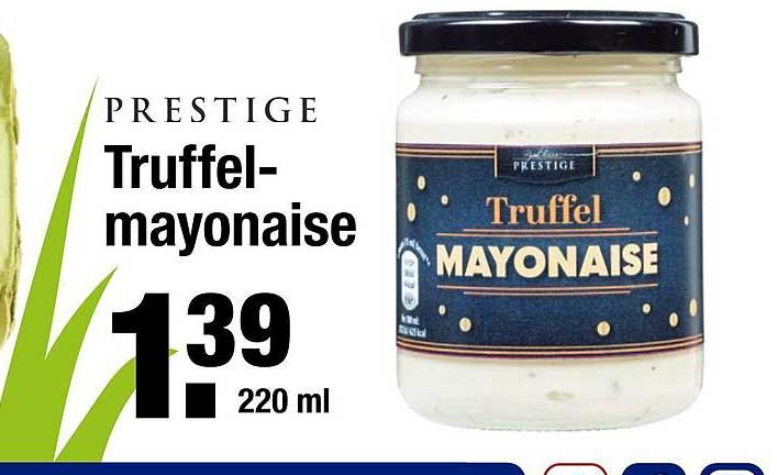 ALDI Prestige Truffel Mayonaise