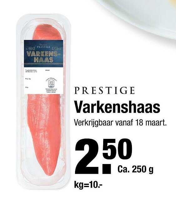 ALDI Prestige Varkenshaas