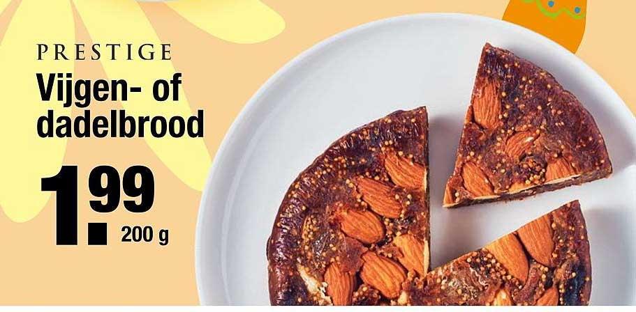 ALDI Prestige Vijgen- Of Dadelbrood
