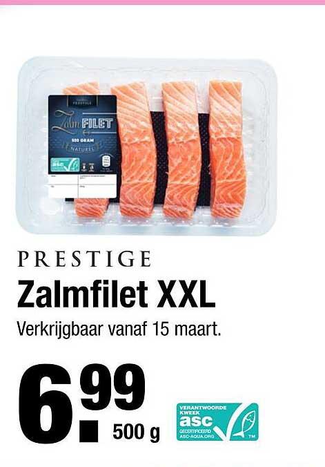 ALDI Prestige Zalmfilet XXL