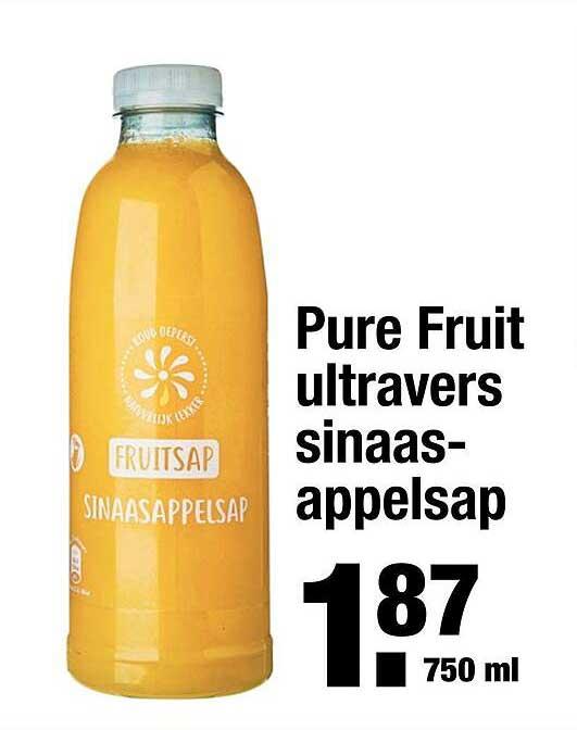 ALDI Pure Fruit Ultravers Sinaasappelsap