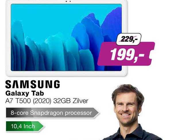 EP Samsung Galaxy Tab A7 T500 (2020) 32GB Zilver