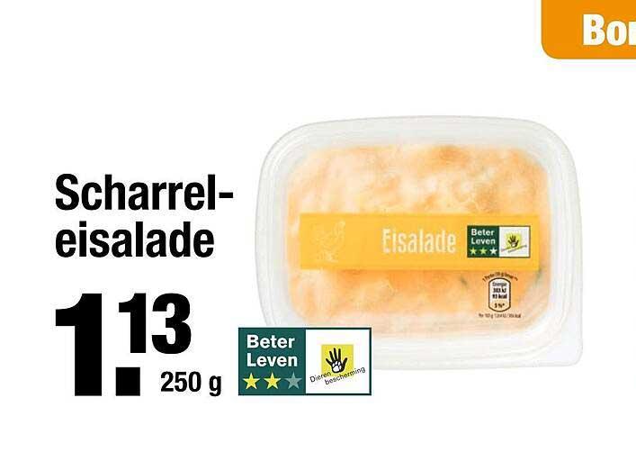ALDI Scharrel-Eisalade