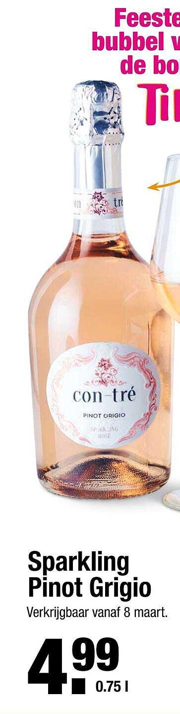 ALDI Sparkling Pinot Grigio