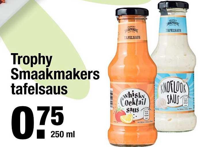 ALDI Trophy Smaakmakers Tafelsaus