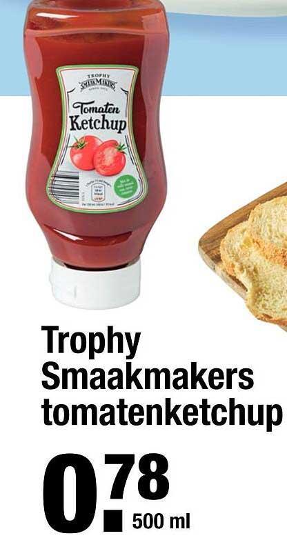 ALDI Trophy Smaakmakers Tomatenketchup
