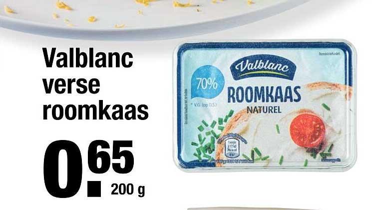 ALDI Valblanc Verse Roomkaas