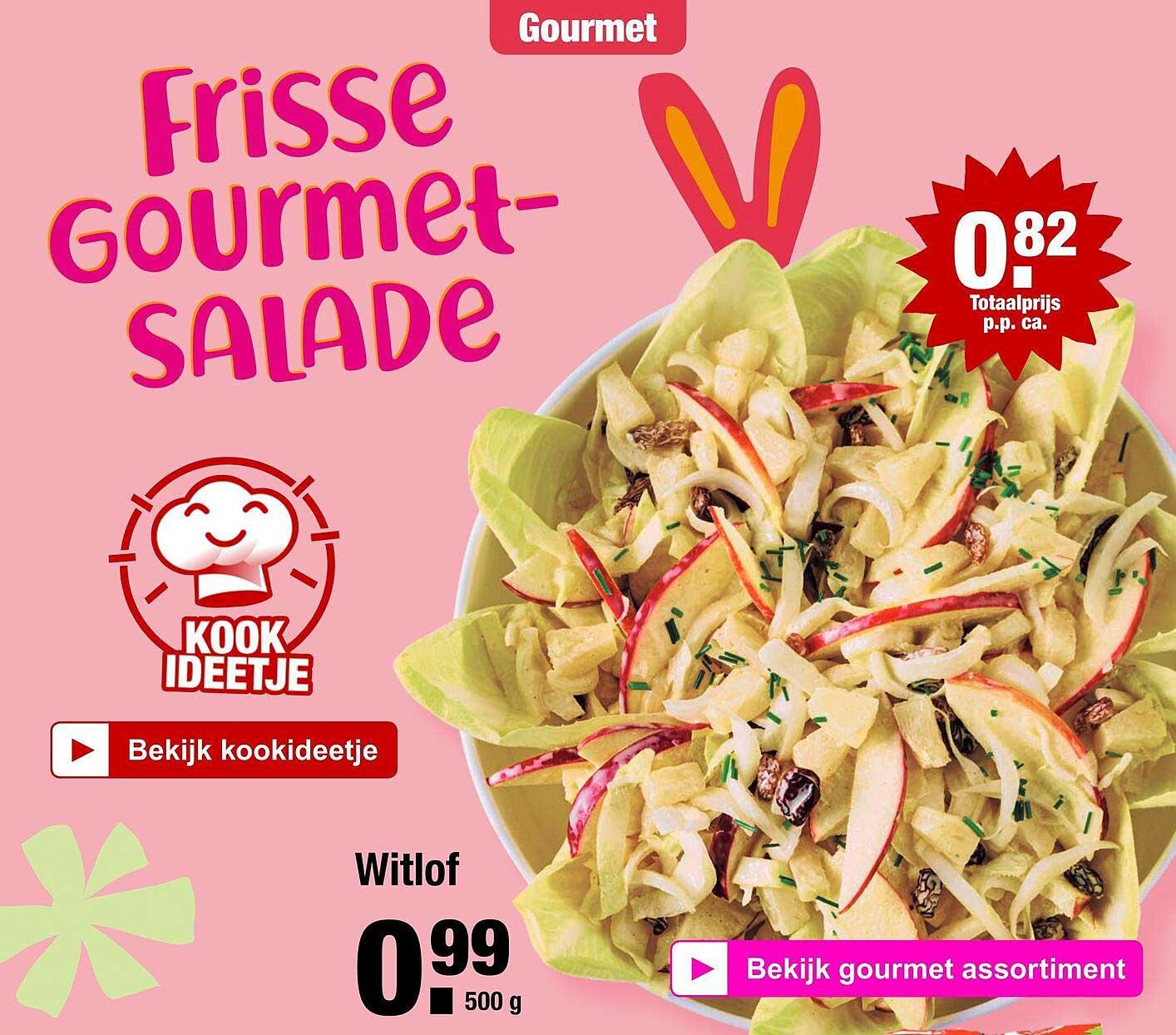 ALDI Witlof Of Frisse Gourmetsalade