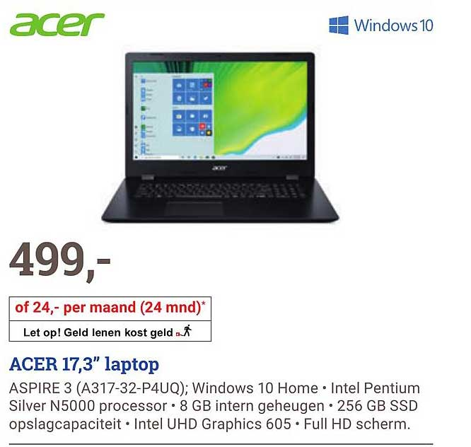 BCC Acer A31732P4UQ