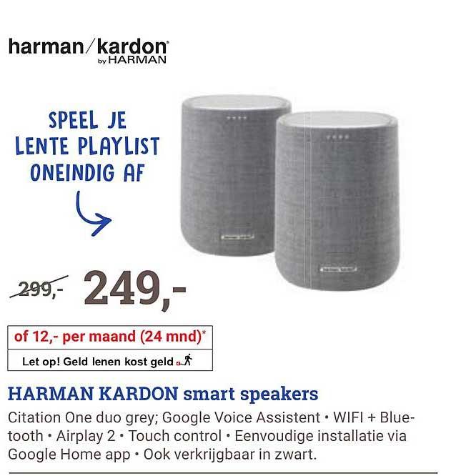 BCC Harman Kardon Citation One Duo Grey