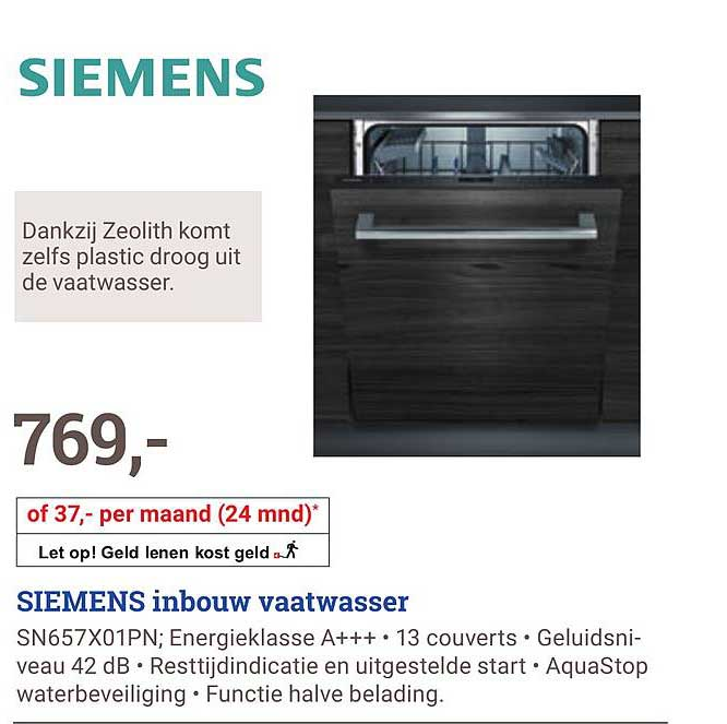 BCC Siemens SN657X01PN
