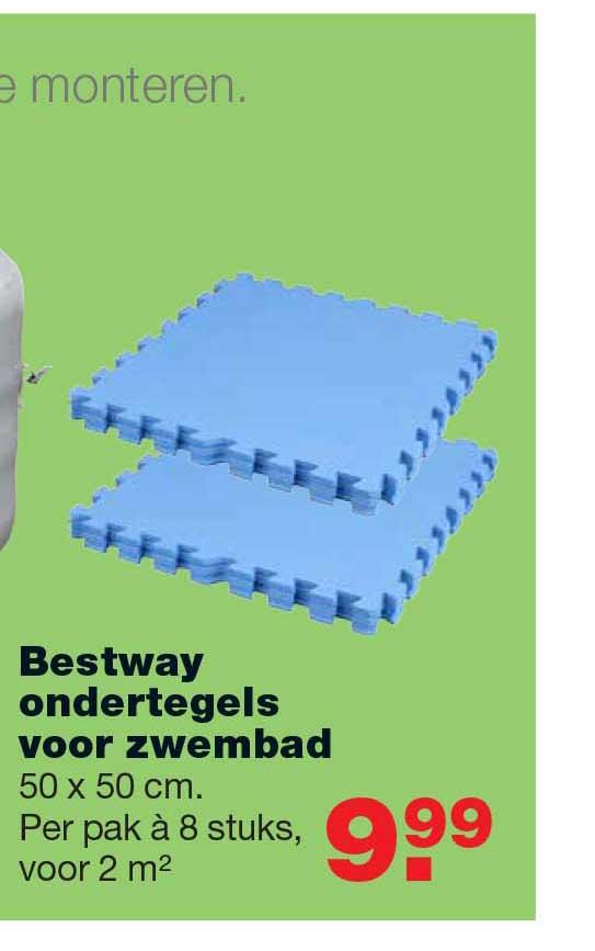 Praxis Bestway Ondertegels Voor Zwembad