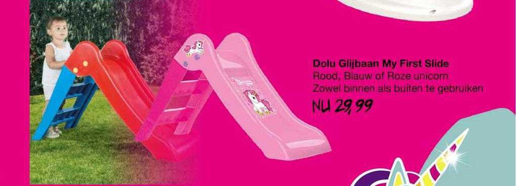 Van Asten Dolu Glijbaan My First Slide