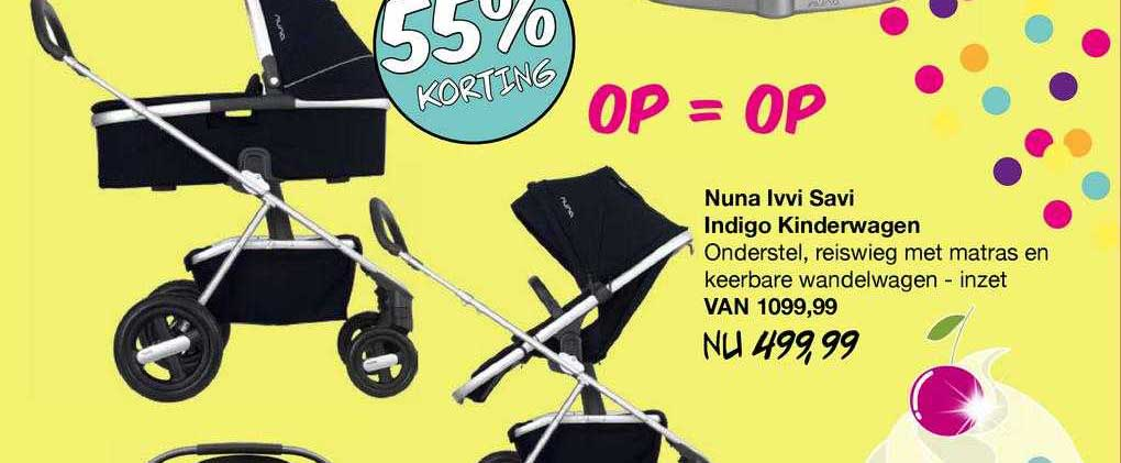 Van Asten Nuna Ivvi Savi Indigo Kinderwagen