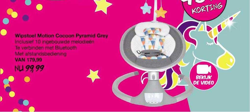 Van Asten Wipstoel Motion Cocoon Pyramid Grey