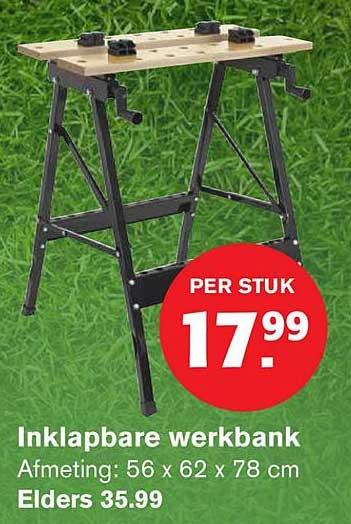 Powerfix Inklapbare Werkbank Aanbieding Bij Lidl