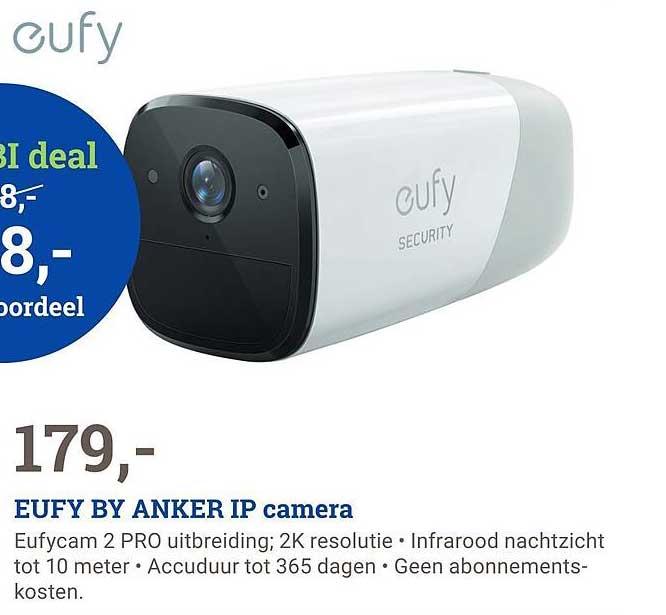 BCC Eufy By Anker IP Camera Eufycam 2 Pro Uitbreiding