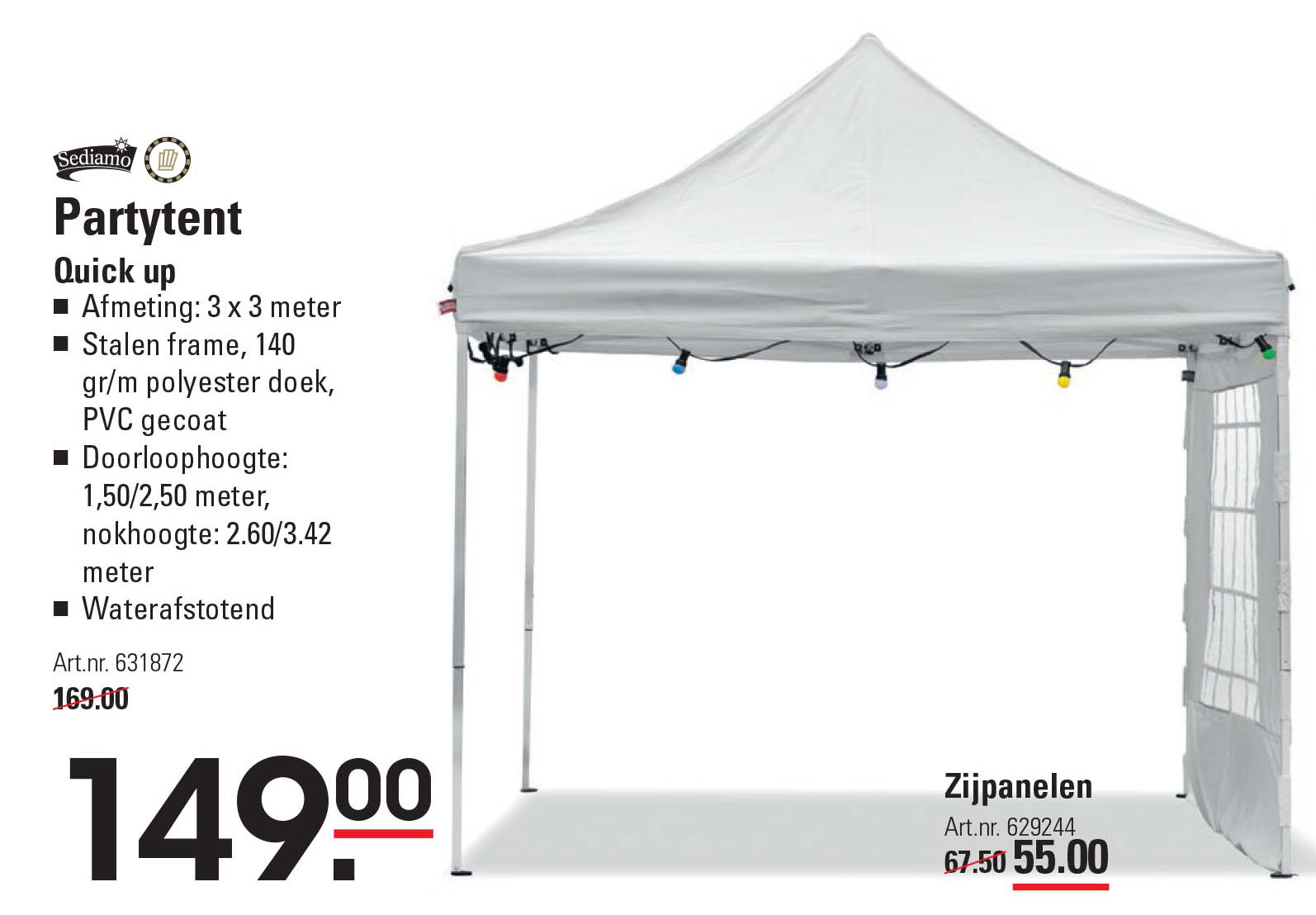 Sligro Partytent