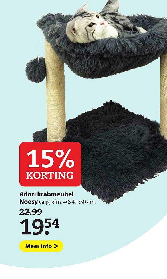 Boerenbond Adori Krabmeubel Noesy 15% Korting