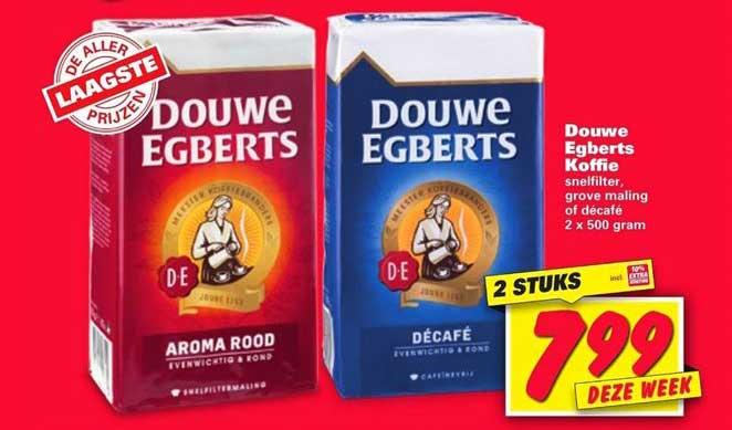 Nettorama Douwe Egberts Koffie