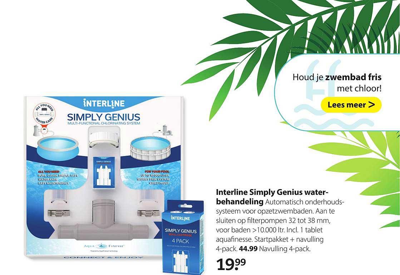 Boerenbond Interline Simply Genius Waterbehandeling