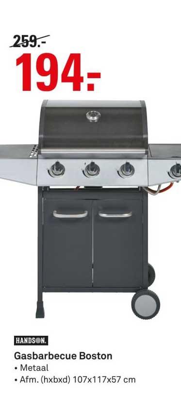 Gasbarbecue Boston Aanbieding bij Karwei