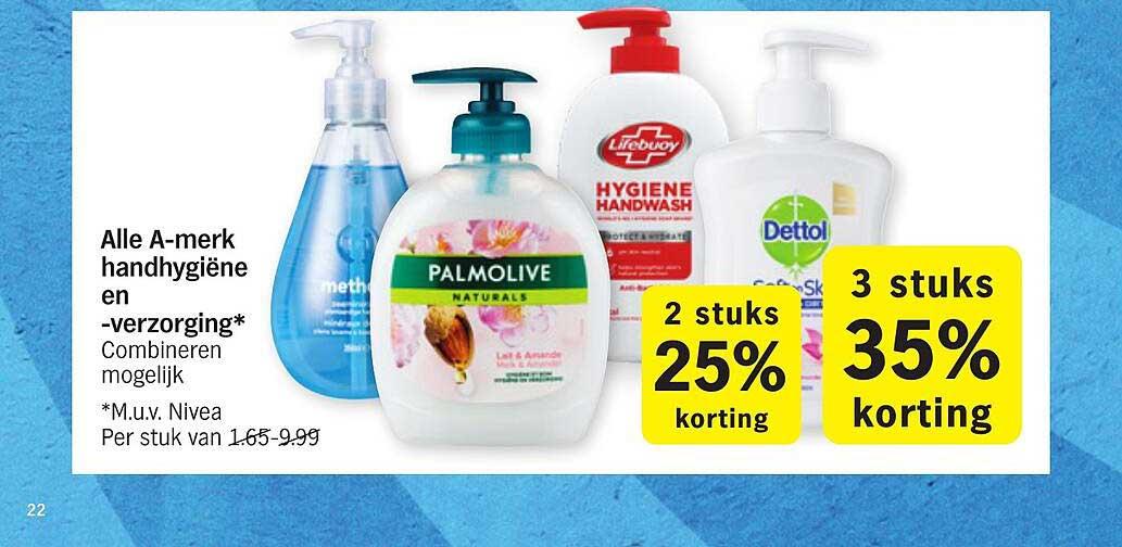 Albert Heijn Alle A-merk Handhygiëne En -verzorging