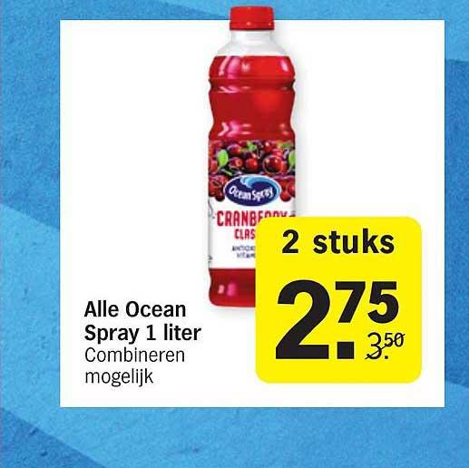 Albert Heijn Alle Ocean Spray 1 Liter