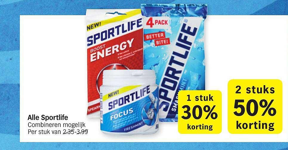 Albert Heijn Alle Sportlife