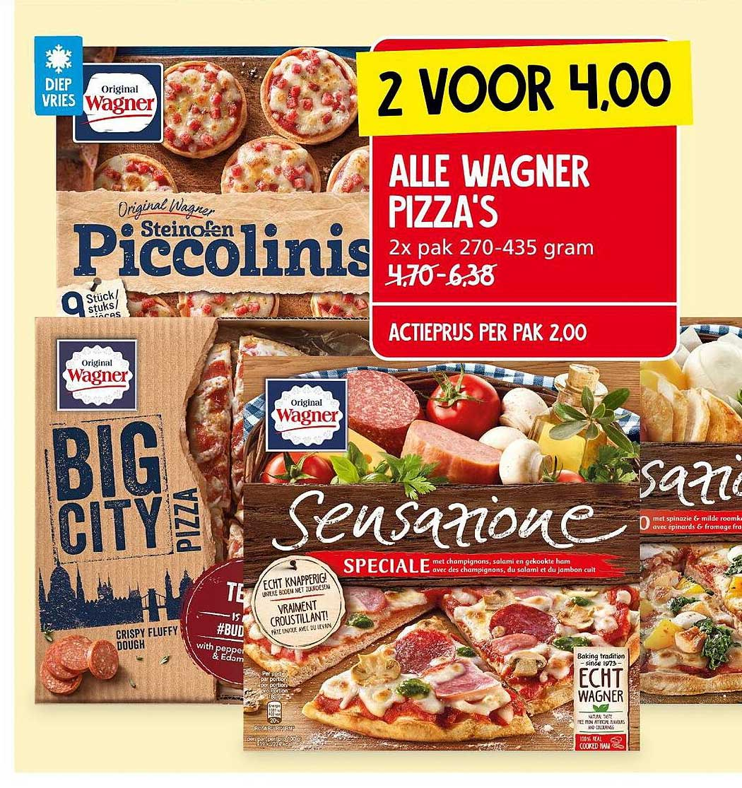 Jan Linders Alle Wagner Pizza's