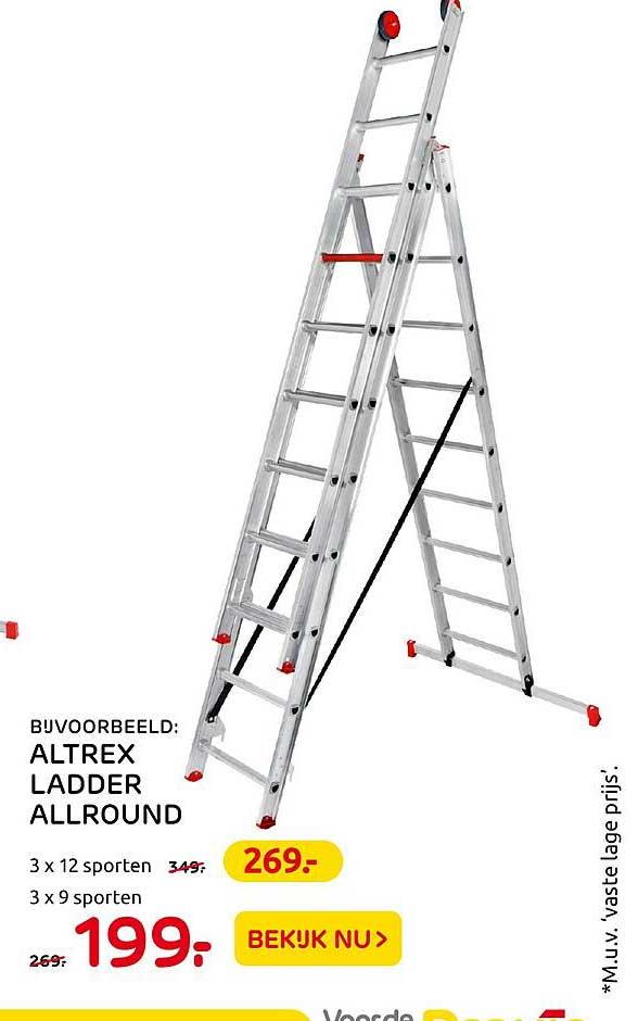 Praxis Altrex Ladder Allround