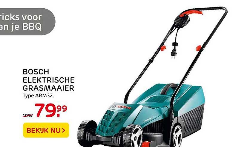 Praxis Bosch Elektrische Grasmaaier ARM32