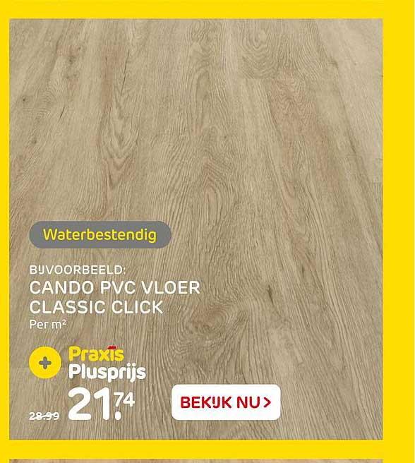 Praxis Cando PVC Vloer Classic Click