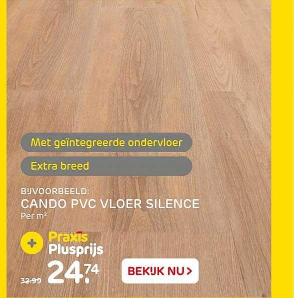 Praxis Cando PVC Vloer Silence