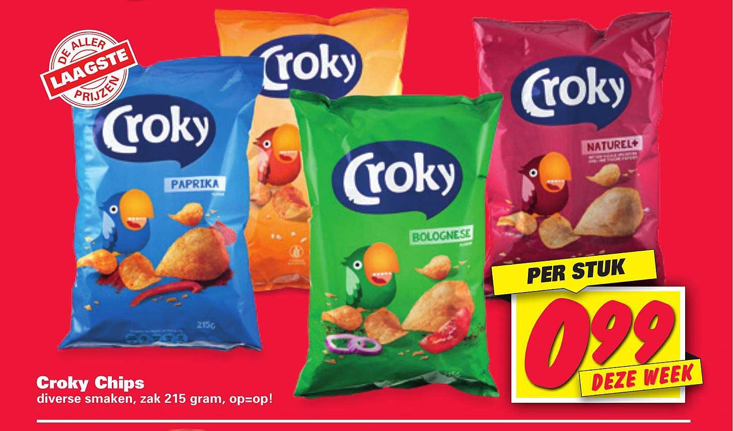 Nettorama Croky Chips