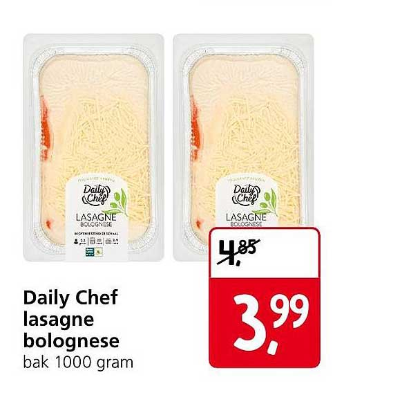 Jan Linders Daily Chef Lasagne Bolognese