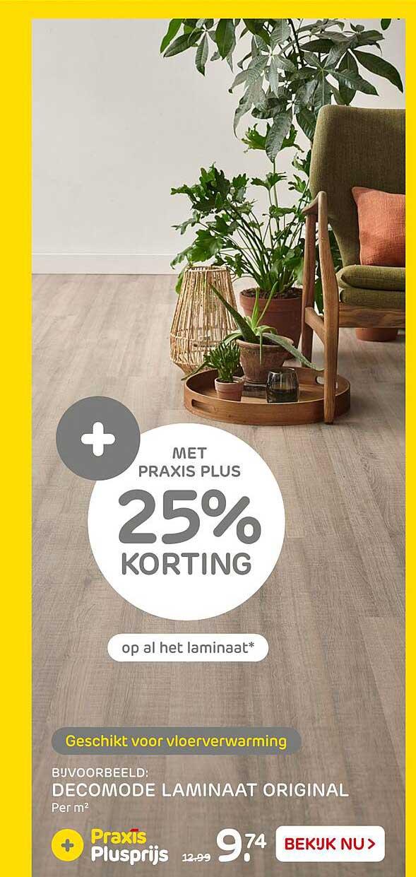 Praxis Decomode Laminaat Original 25% Korting