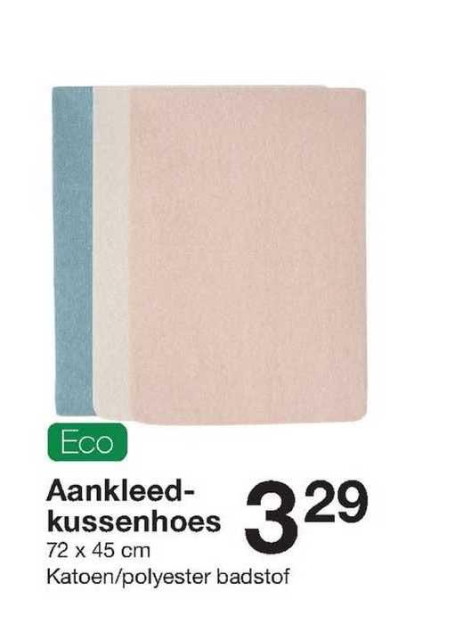 Zeeman Eco Aandkleedkussenhoes 72 X 45 Cm